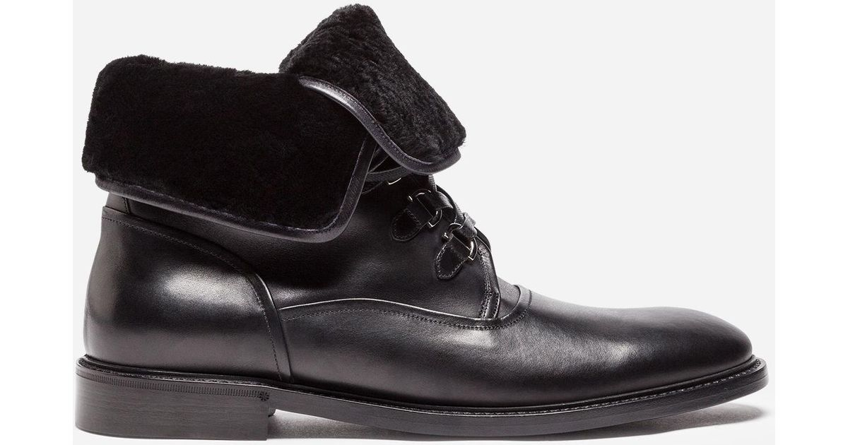 Dolce & Gabbana Shearling lined ankle boots hLMl2C7