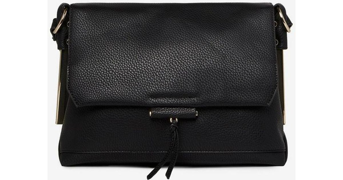 d66b0160f18f Dorothy Perkins Black Metal Side Cross Body Bag in Black - Save 32% - Lyst