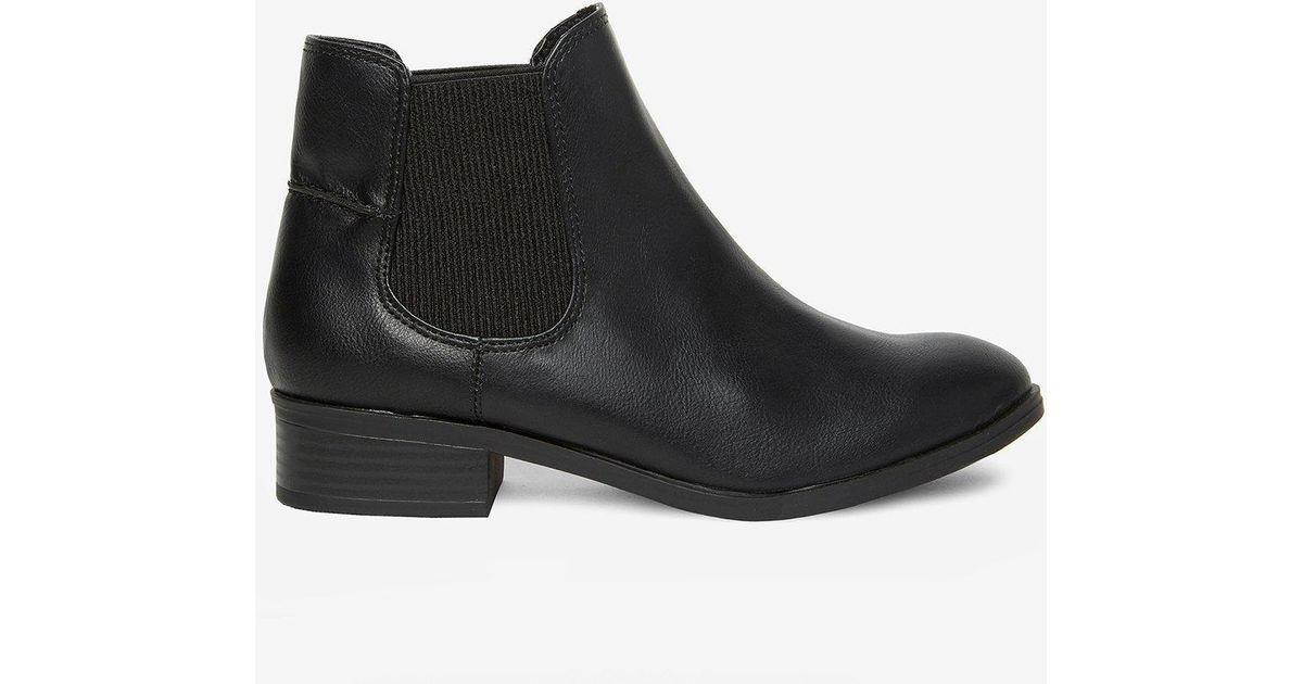 d4c62553e103 Dorothy Perkins Black Monty Chelsea Boots in Black - Save 53% - Lyst
