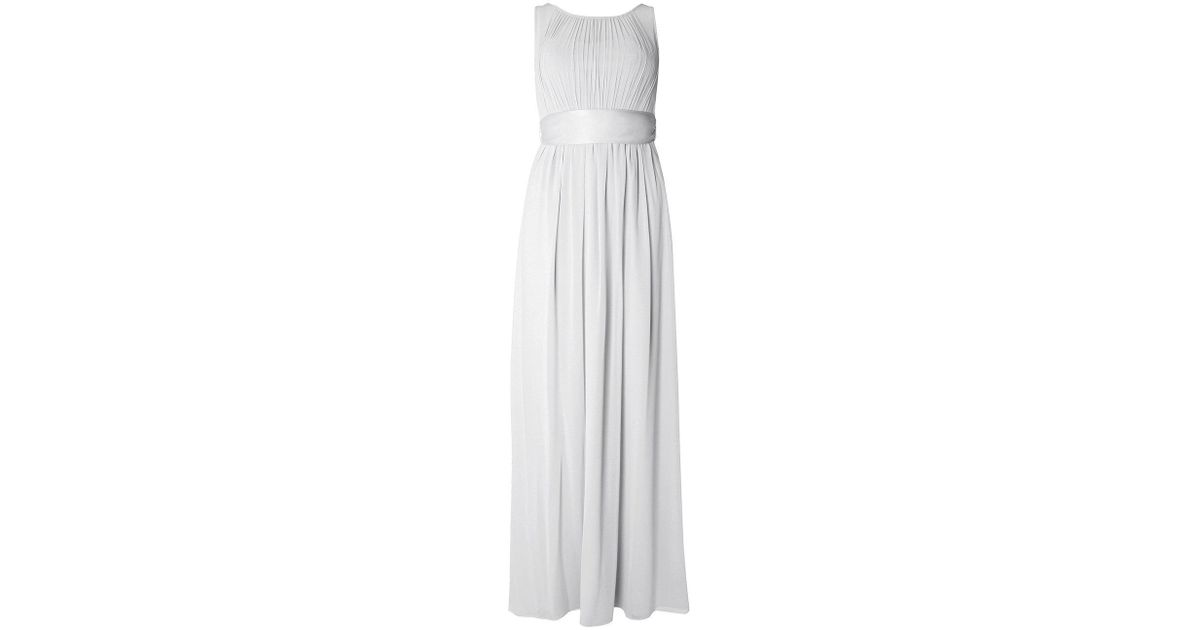 de21c783bb569 Dorothy Perkins Showcase Petite Dove Grey Natalie Maxi Dress in Gray - Lyst