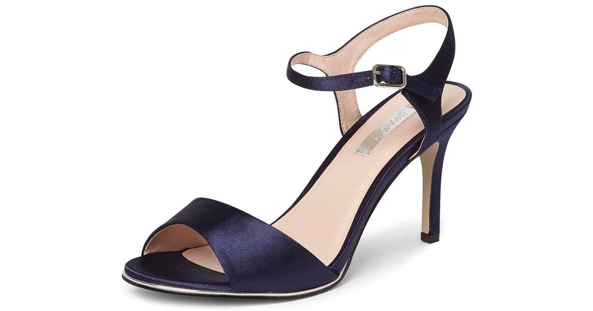 Dorothy Perkins SHOW CASE SIERRA - High heeled sandals - navy zFJzNp6H82