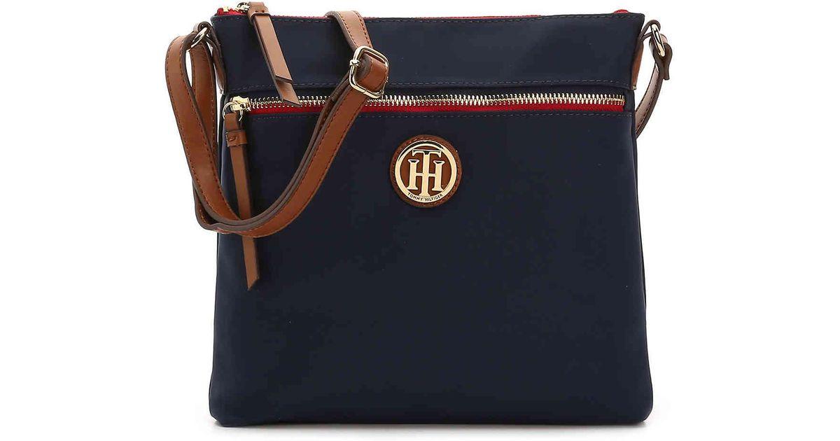 8739af568d04 Lyst - Tommy Hilfiger Nylon Crossbody Bag in Blue