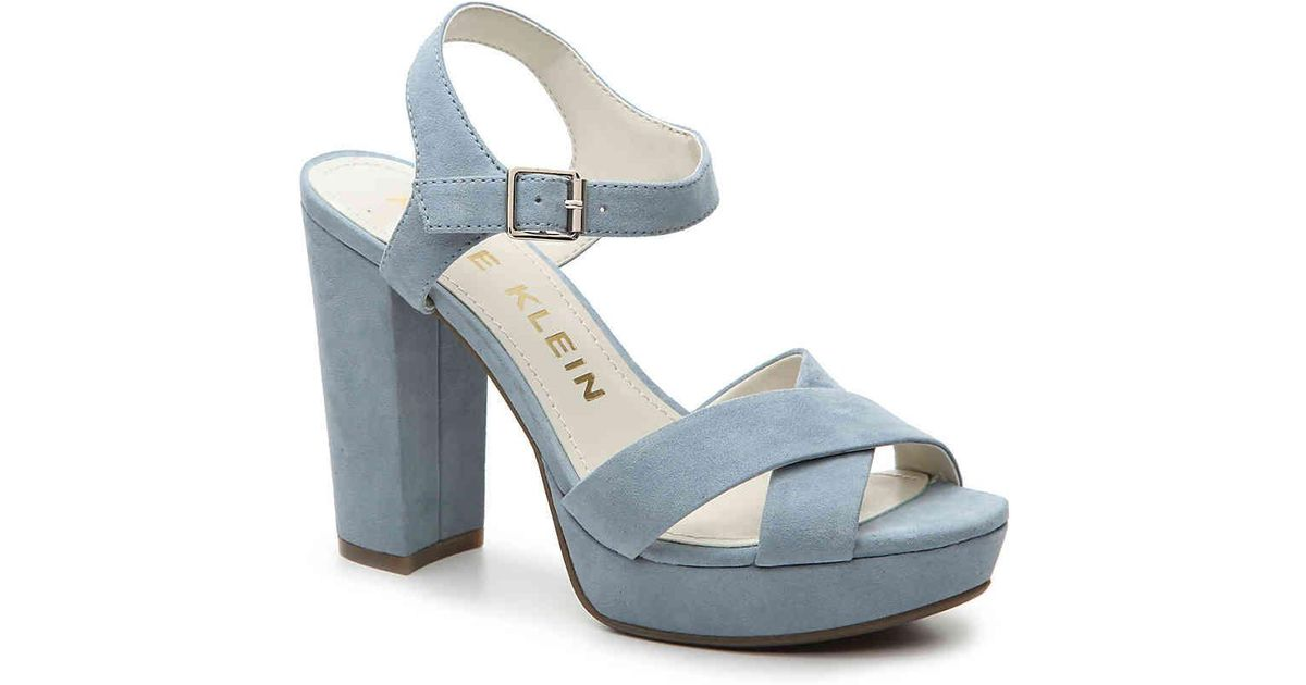 351c533d92d9 Lyst - Anne Klein Lalima Platform Sandal in Blue