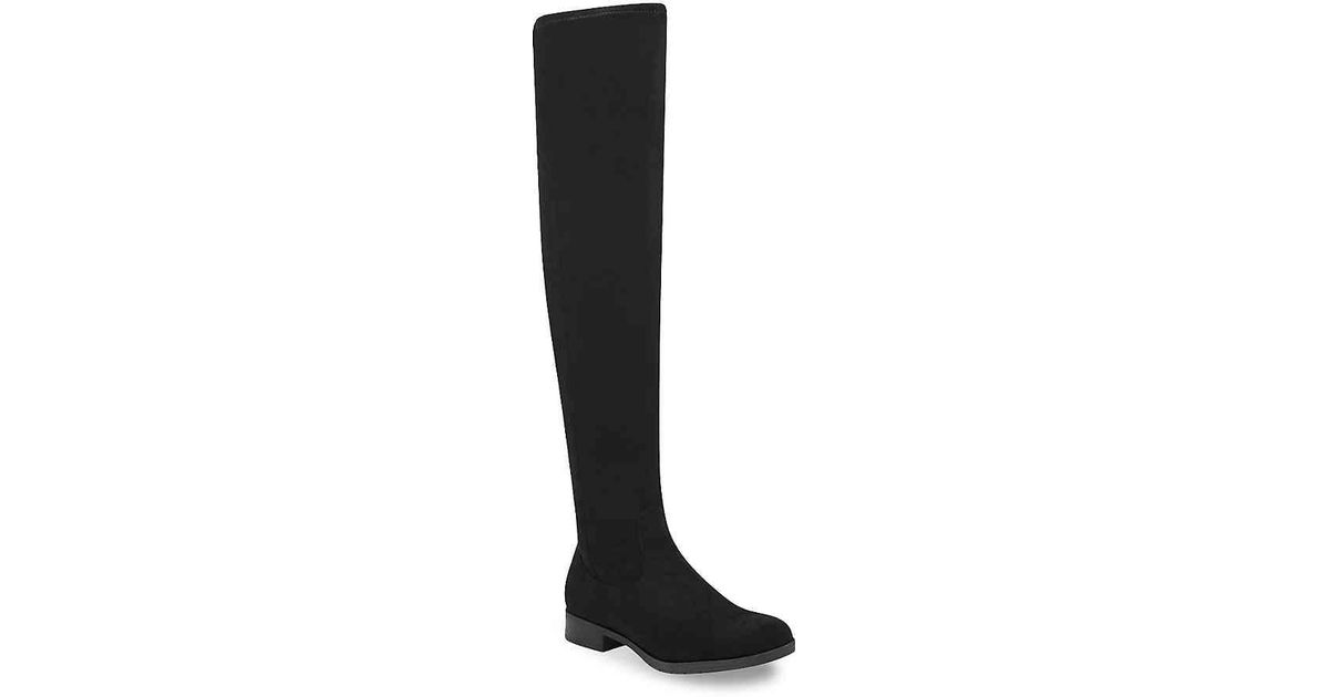 475f239c106 Lyst - Marc Fisher Jaywalk Over The Knee Boot in Black
