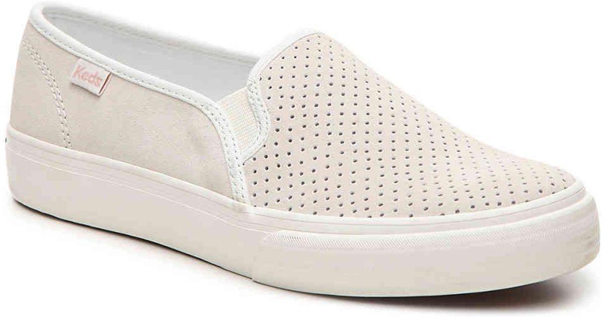 44f0f79f195b Lyst - Keds Double Decker Slip-on Sneaker
