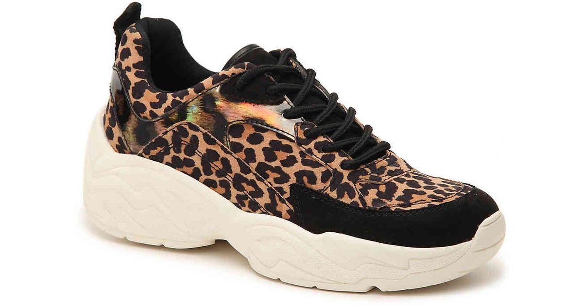 b1146a7631d Lyst - Steve Madden Shirli Sneaker in Brown