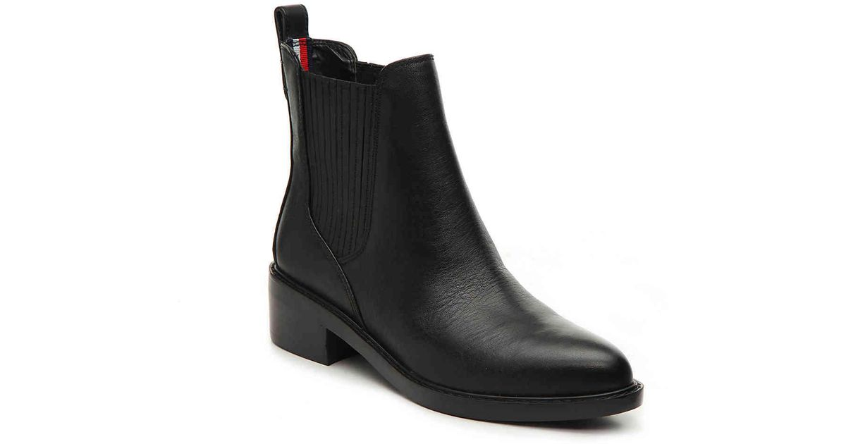 456acd79 Tommy Hilfiger Wezley Chelsea Boot in Black - Lyst
