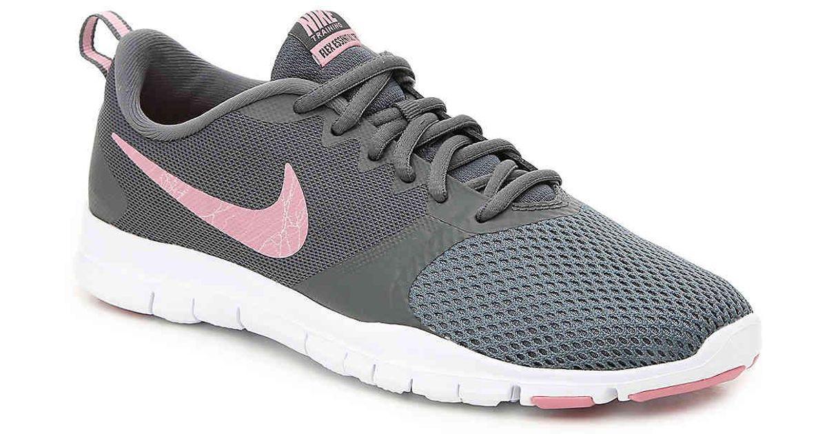 f0e26f76f1b Lyst - Nike Flex Essential Tr Lightweight Training Shoe in Gray