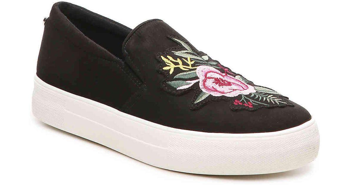 14d33d95901 Lyst - Steve Madden Gracie Platform Slip-on Sneaker in Black