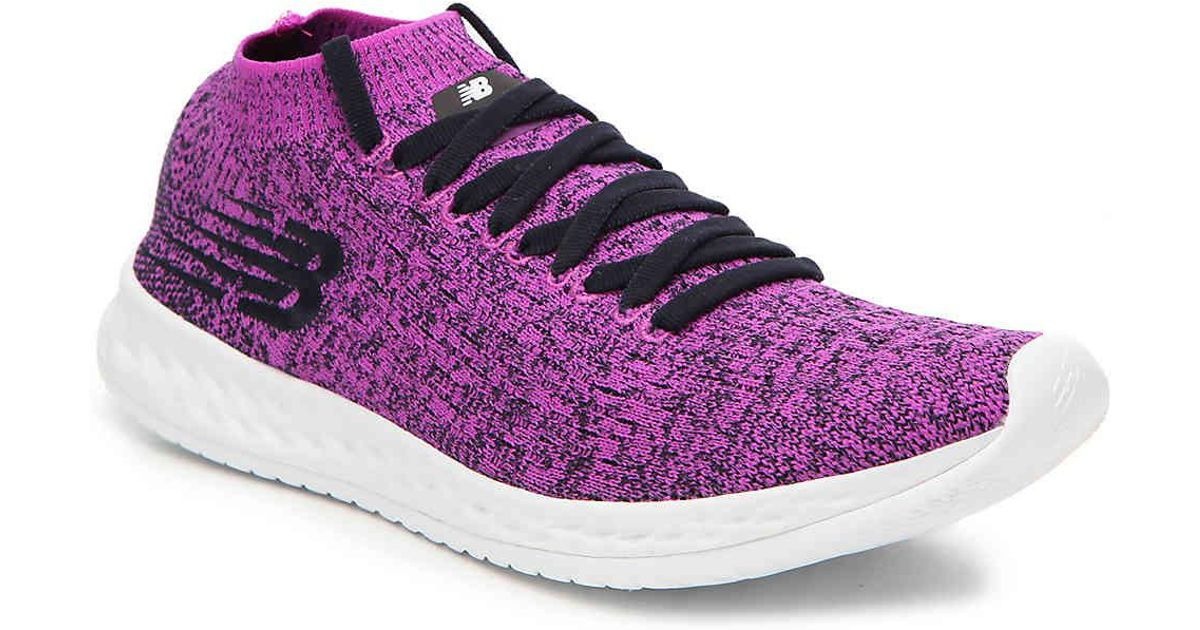 8b34d9227b79d5 Lyst - New Balance Fresh Foam Zante Solas Lightweight Running Shoe in Purple