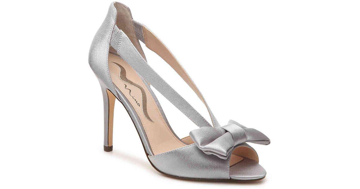 4f23f55fcf4 Lyst - Nina Maja Sandal in Metallic
