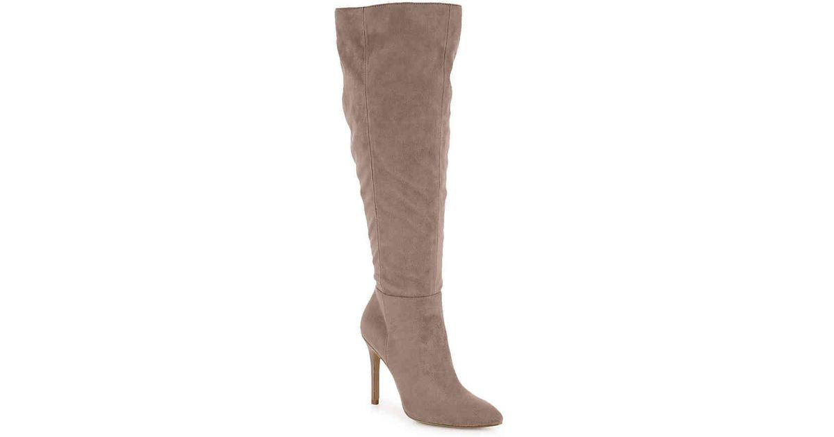 bd9575413cce Lyst - Charles David Daya Boot in Brown