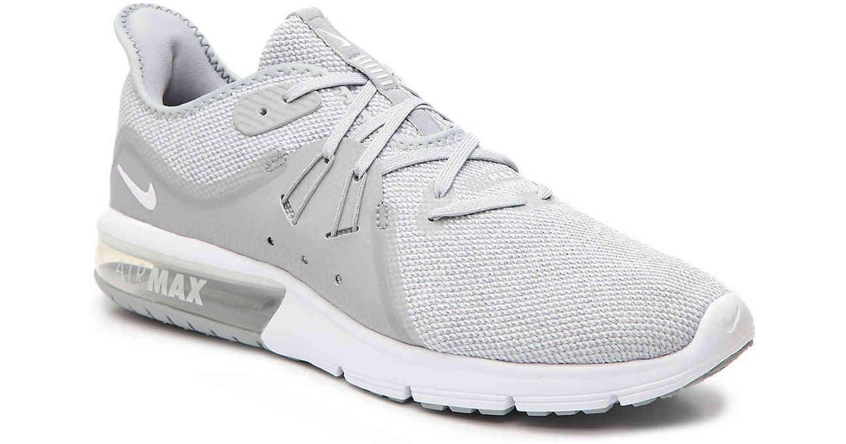8b10f6220b7 Lyst - Nike Air Max Sequent 3 Running Shoe in Gray