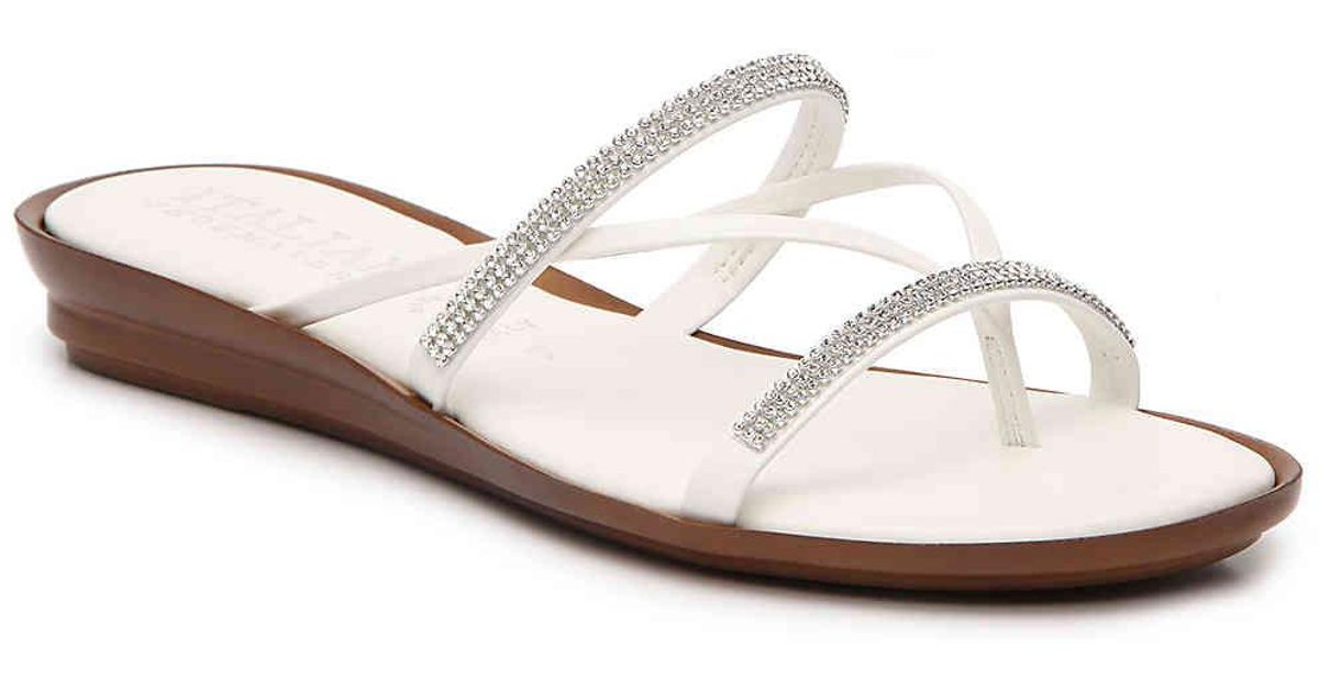 Italian Shoemakers Crisscross Wedge Sandal CUkyjRPsSr