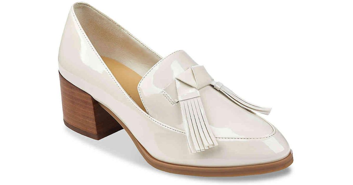 af1a3abadfc Lyst - Marc Fisher Phylicia 2 Loafer in White