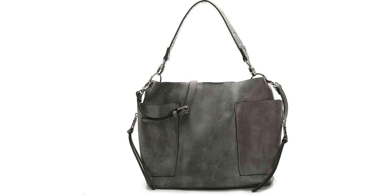 069410aeb680 Lyst - Steve Madden Bkoltt Hobo Bag in Gray