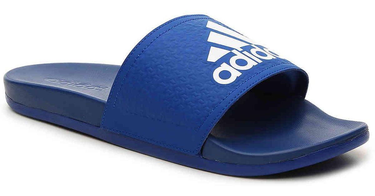 770fbba779d76 Lyst - Adidas Adilette Supercloud Plus Slide Sandal in Blue for Men