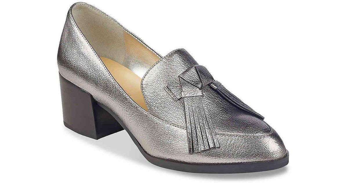 99126a4885a Lyst - Marc Fisher Phylicia 2 Loafer in Metallic