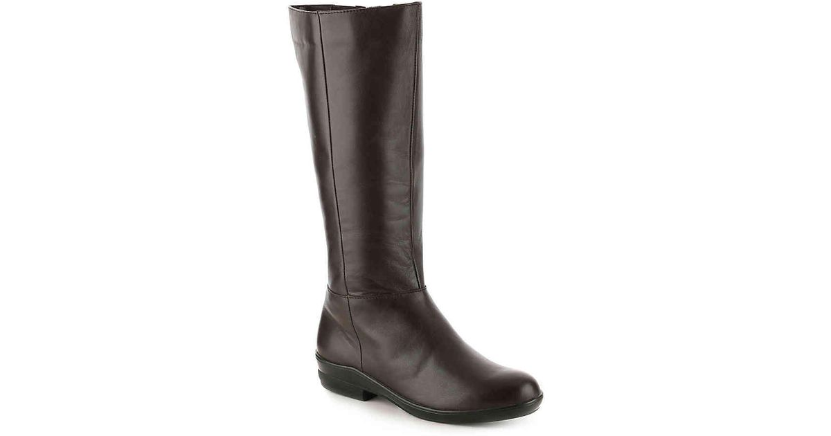 4f096bd27b8 Lyst - David Tate Morgan Extra Wide Calf Riding Boot in Brown