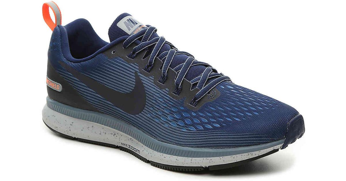 9f6a4f95534 ... dsw 6ad13 1b4bb greece lyst nike air zoom shield pegasus 34 performance  running shoe in blue for men 604d1 ...