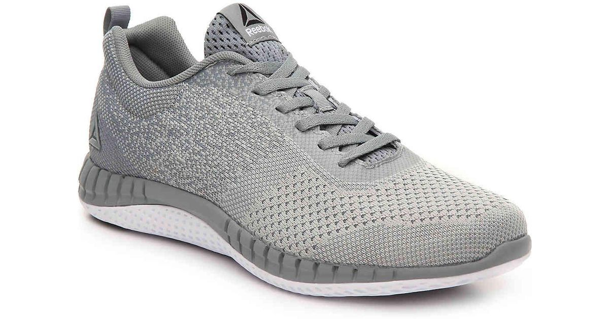 Lyst - Reebok Zprint Prime Lightweight Running Shoe in Gray for Men 09da6dec0