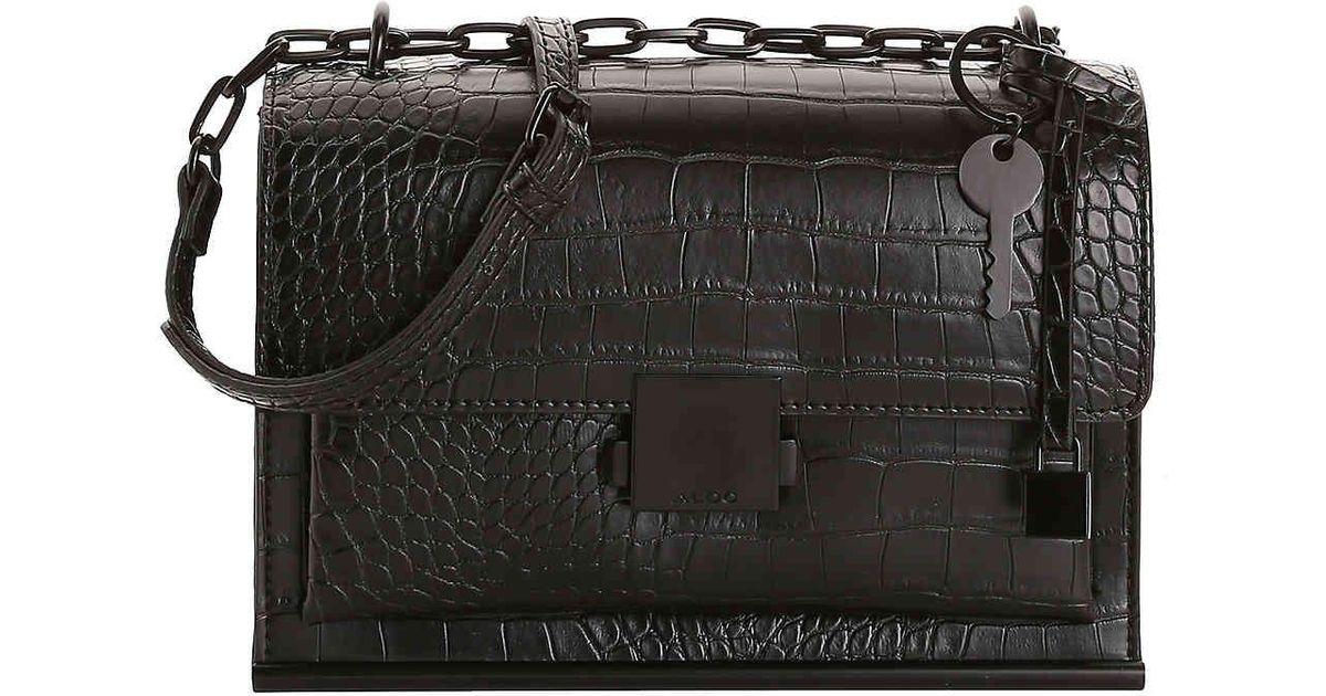 56f92d04f73 Lyst - ALDO Valstrona Crossbody Bag in Black