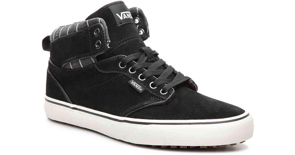 8a035321058f Lyst - Vans Atwood Hi Mte High-top Sneaker in Black for Men