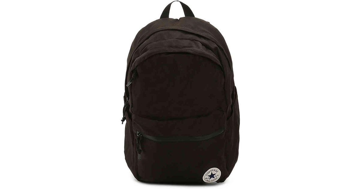 Lyst - Converse Chuck Plus Backpack in Black for Men d102fef1c6066