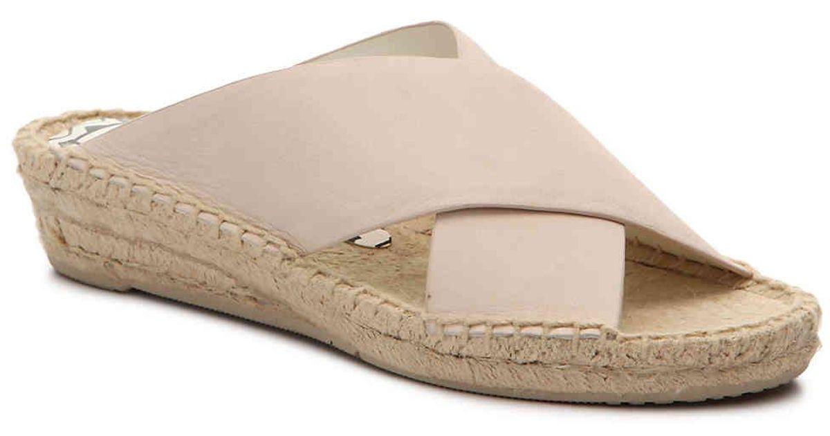 81e5b5dacff Lyst - Dolce Vita Loki Wedge Sandal in Natural