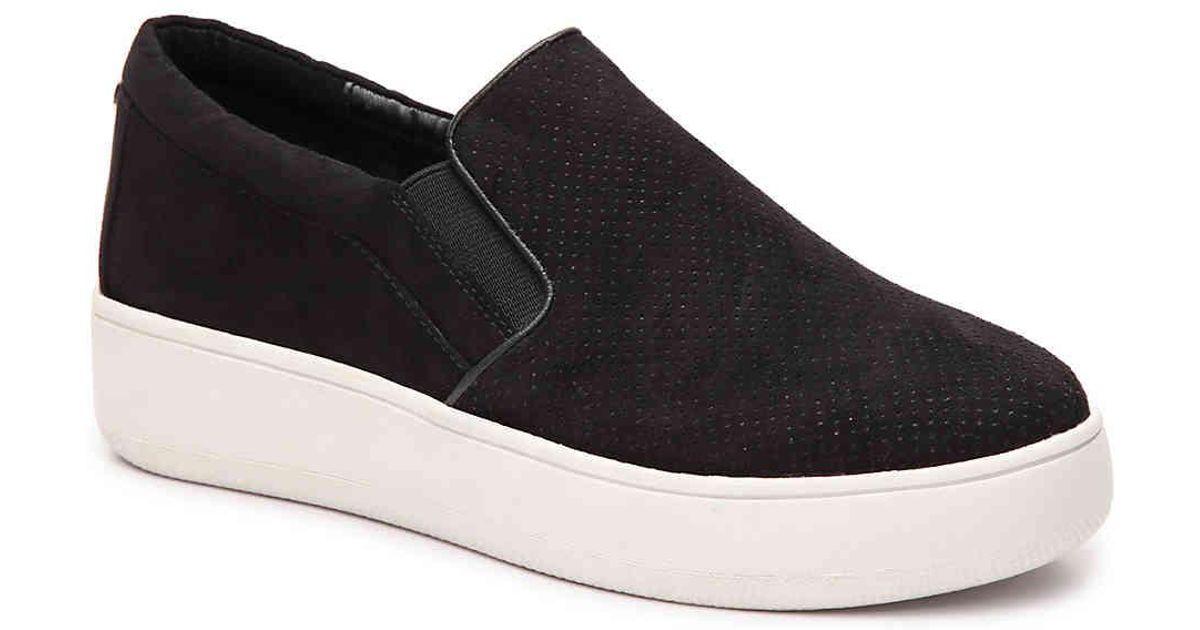 a8a78c82112 Lyst - Steve Madden Genette Platform Sneaker in Black