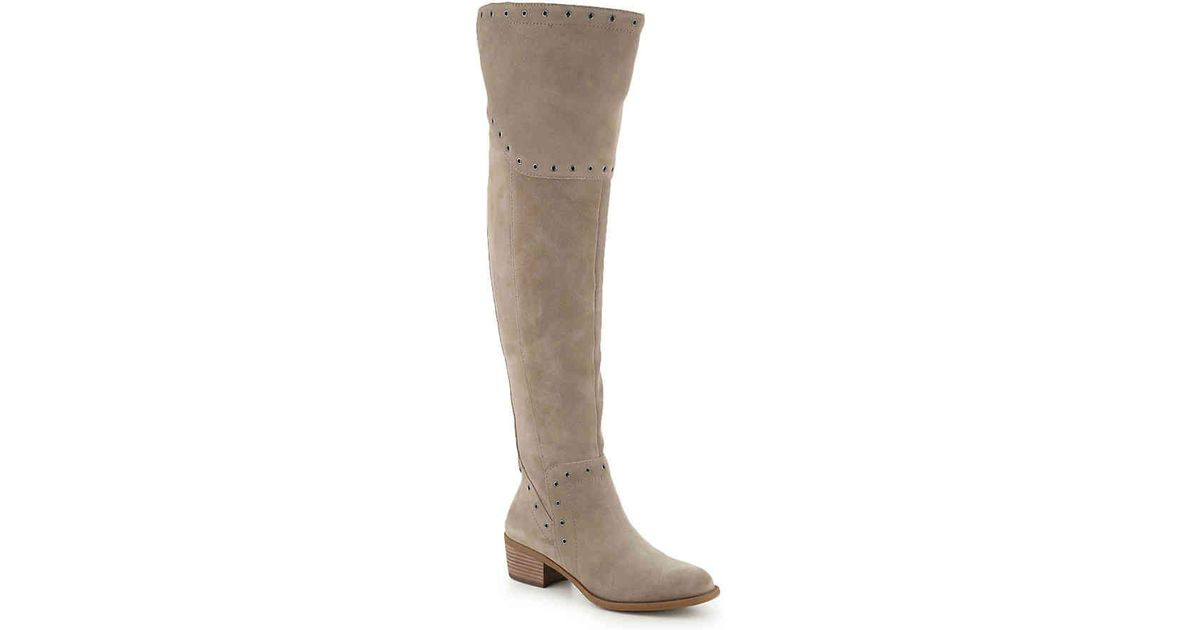 553daeb419f Lyst - Vince Camuto Bestan Over The Knee Boot in Brown