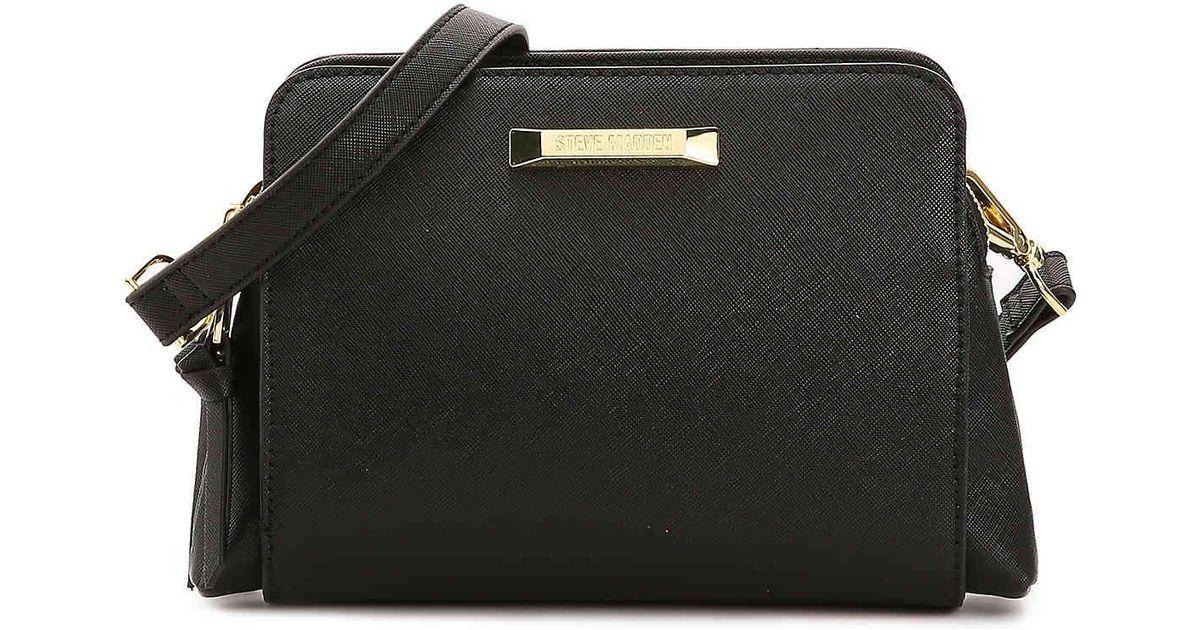 6e081c92522 Steve Madden Blannis Crossbody Bag in Black - Lyst
