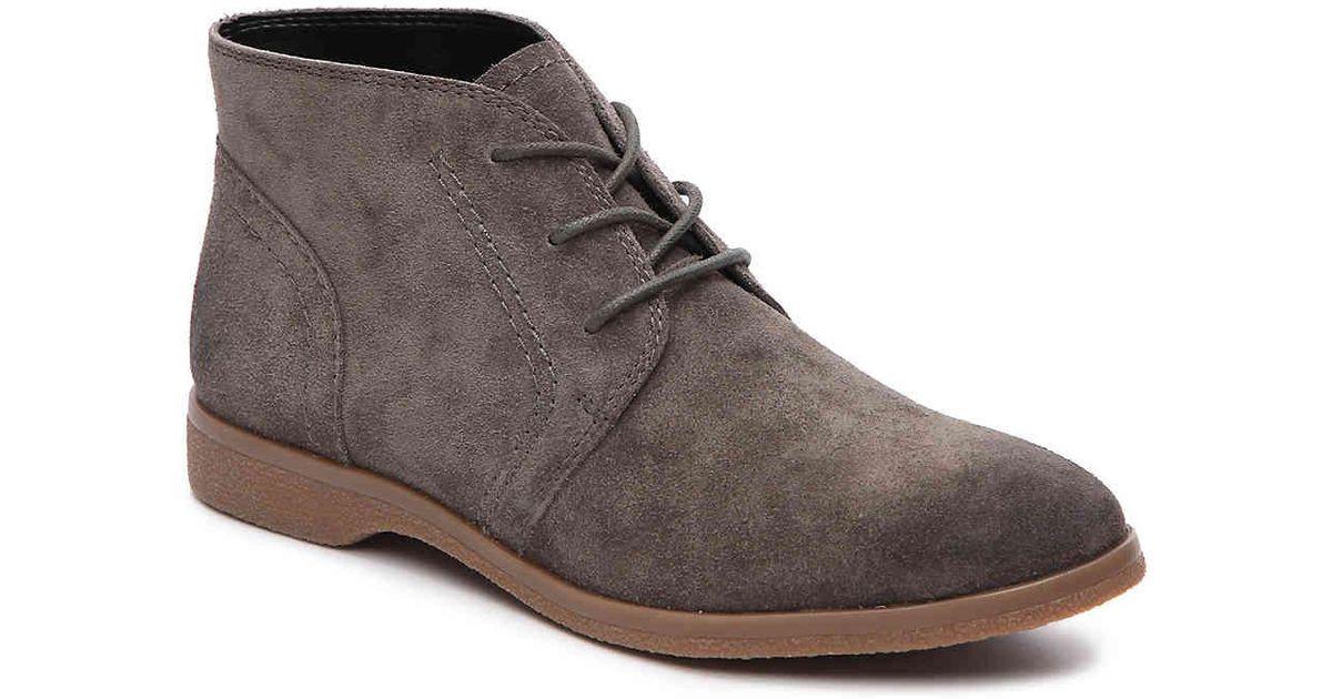3ab64e41a2 Lyst - Franco Sarto Pebbles Bootie in Gray