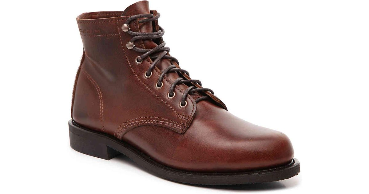 lyst wolverine kilometer ii boot in brown for men
