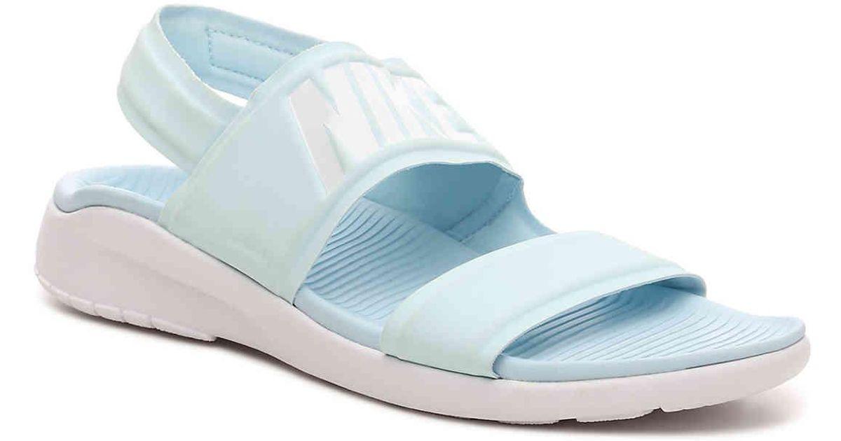 3fd67d007960 ... usa lyst nike tanjun sport sandal in blue 2c69d 2c99d