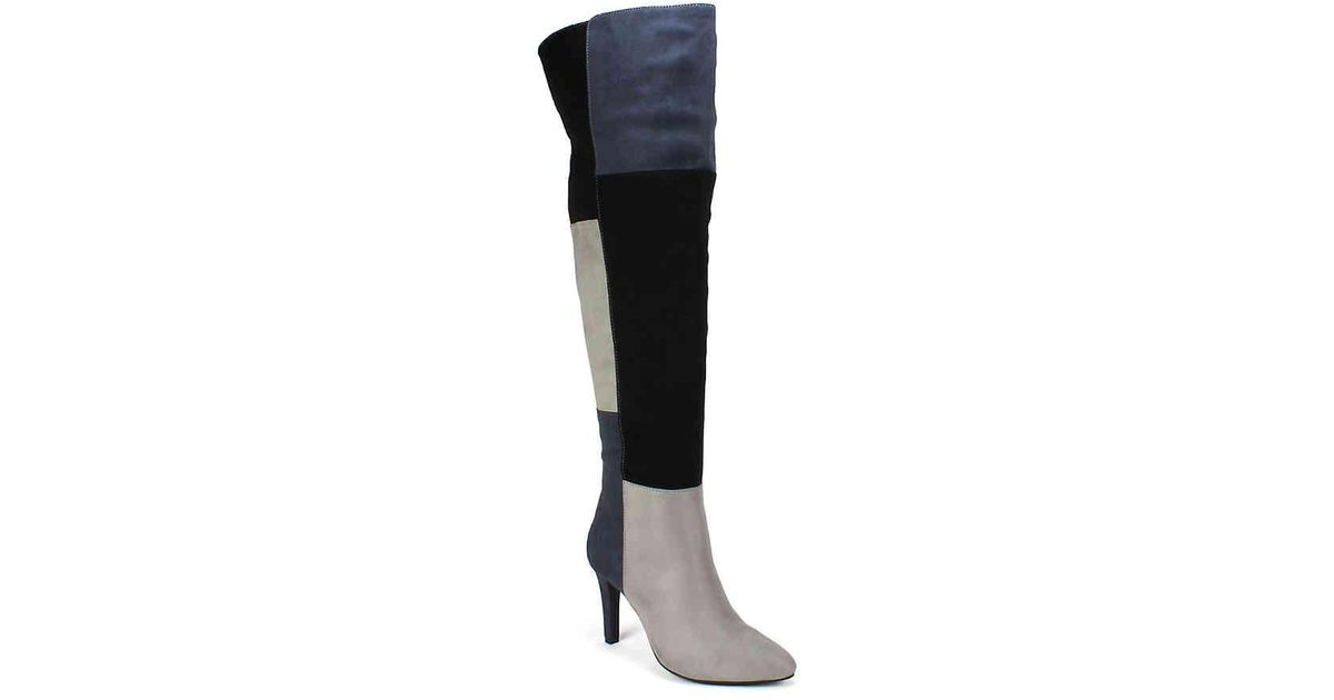 f787a5d6e46 Lyst - Rialto Carpio Over The Knee Boot in Black