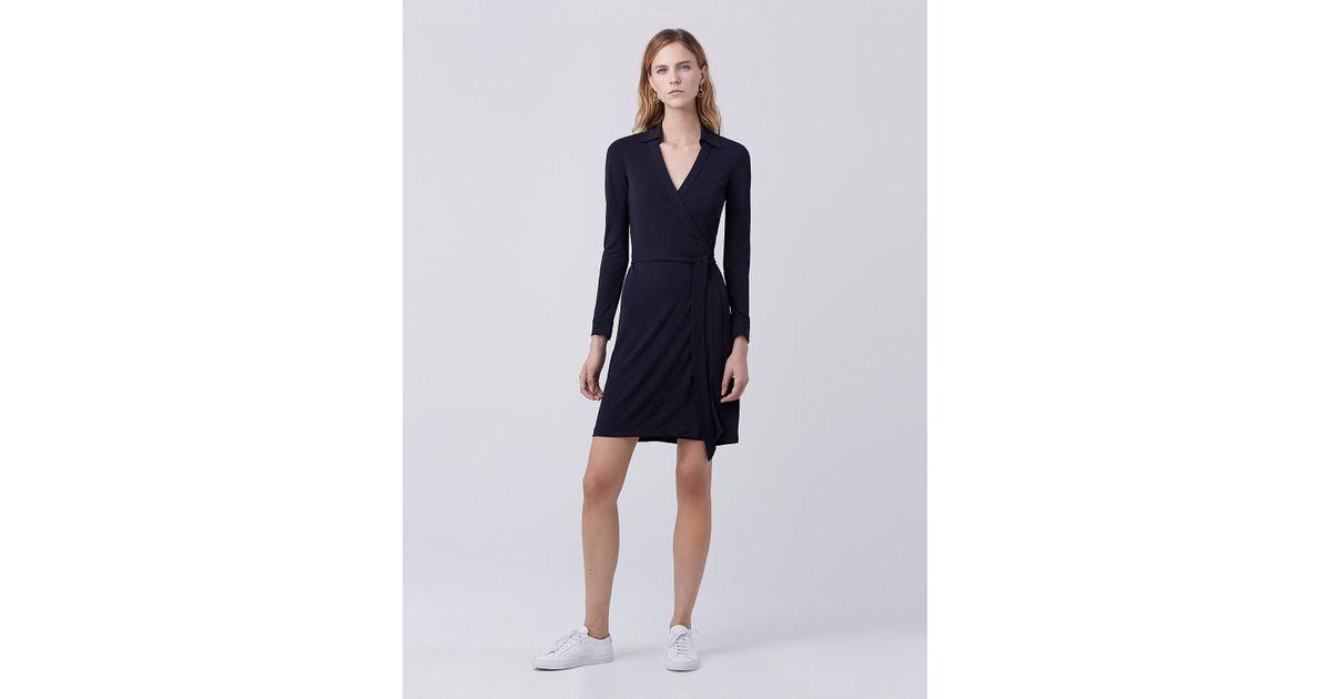 b208d221da6 Diane von Furstenberg New Jeanne Two Matte Jersey Wrap Dress - Lyst