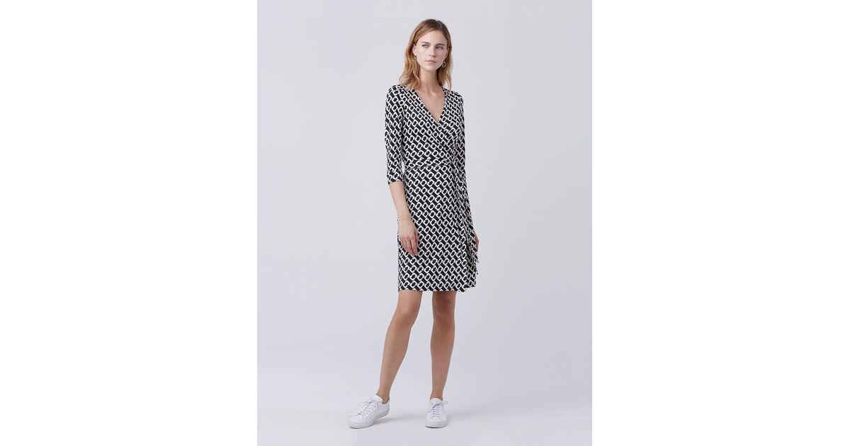 070cca9b60b2 Lyst - Diane Von Furstenberg New Julian Two Silk Jersey Wrap Dress