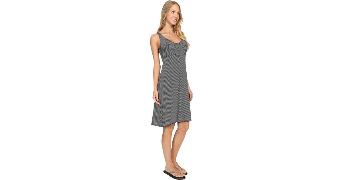 3d369c58f16 Lyst - Prana Rebecca Dress in Gray
