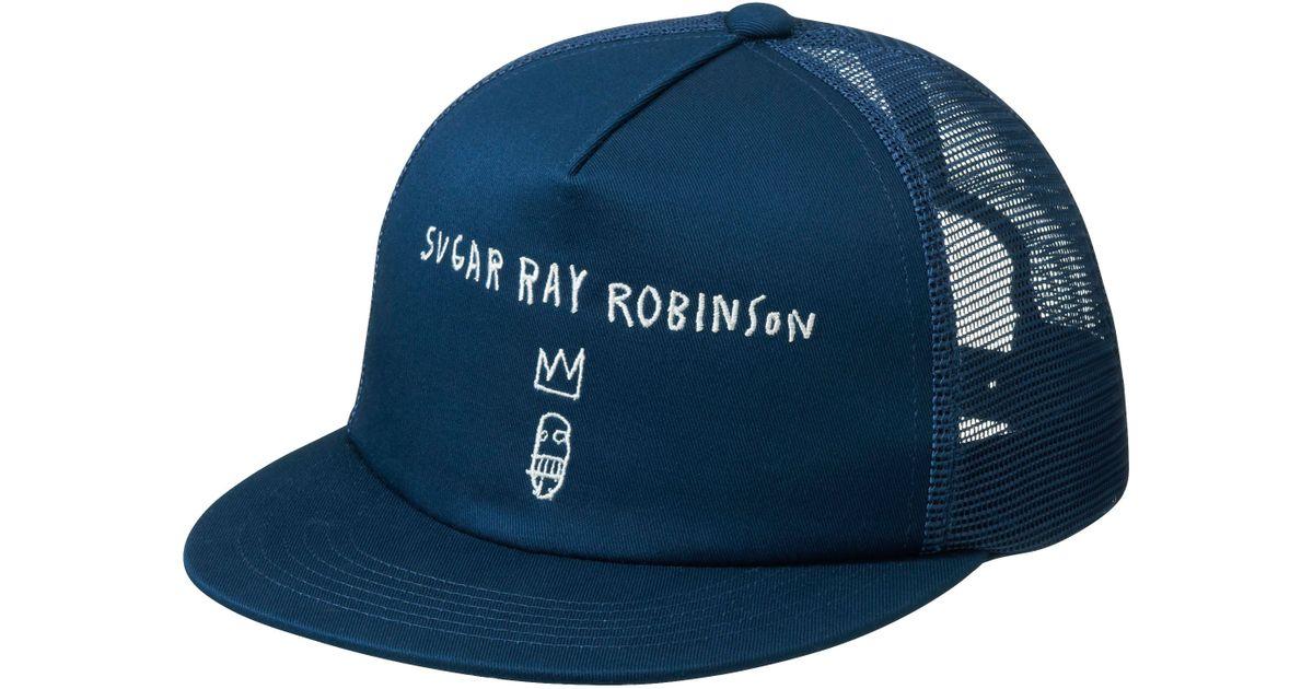 Lyst - Uniqlo Men Sprz Ny Cap (Jean-Michel Basquiat) in Blue for Men 6b0f0b8f29c