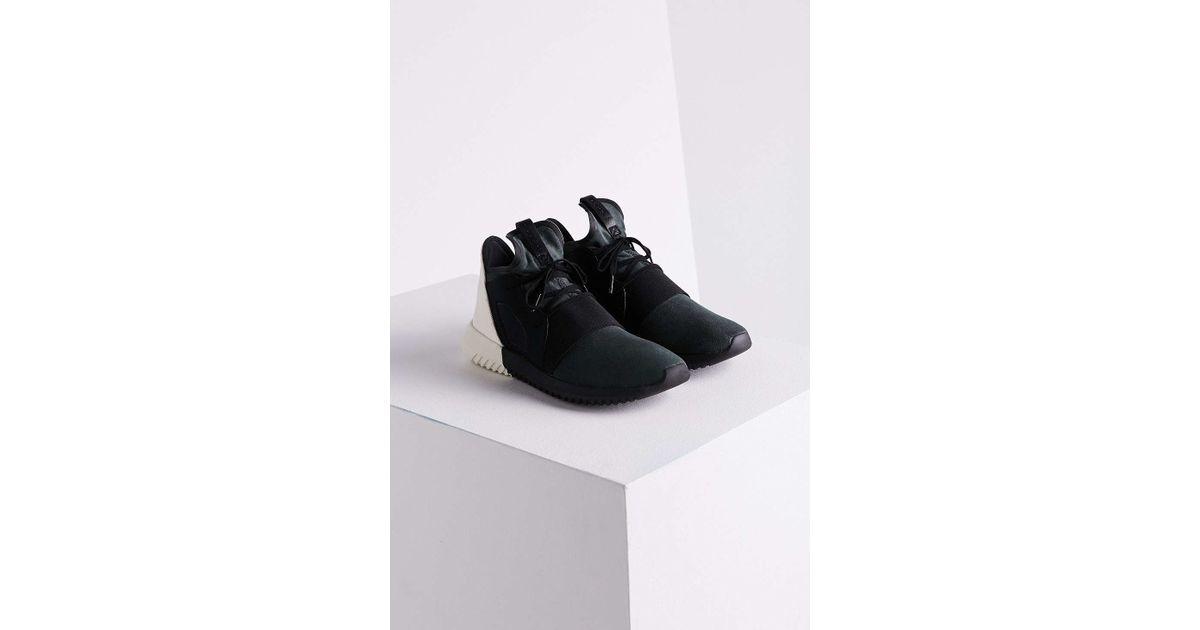 Lyst - adidas Originals Tubular Defiant Low-Top Sneakers in Black d9524a93c0e7