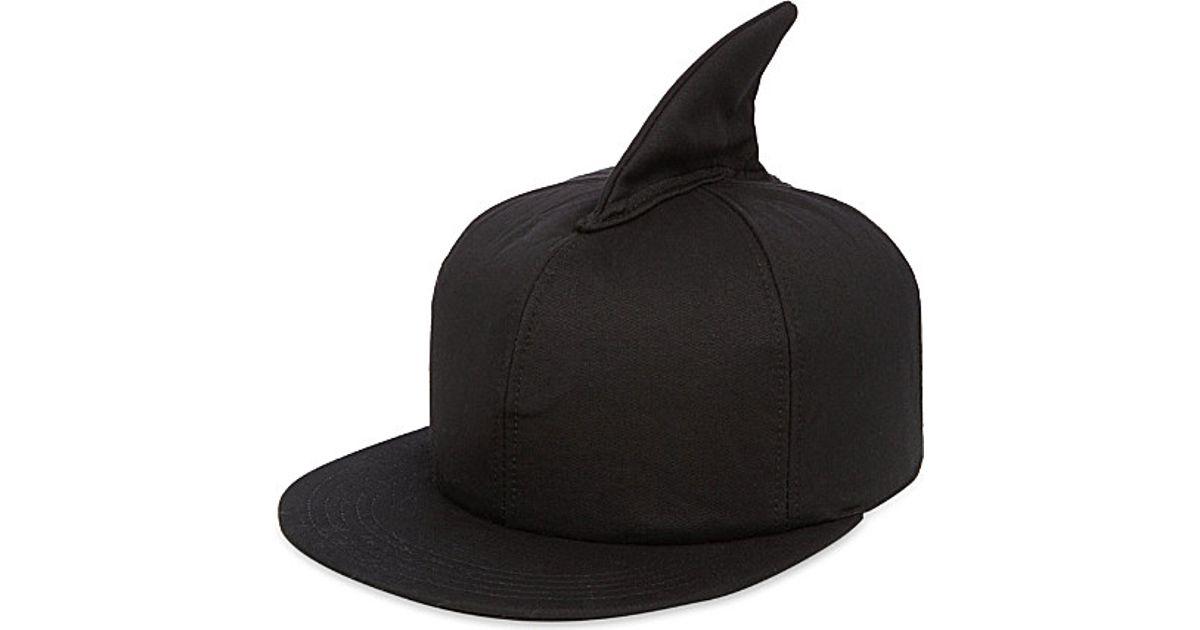 Federica Moretti Shark Fin Baseball Cap - For Men in Black for Men - Lyst 0c7212106f0