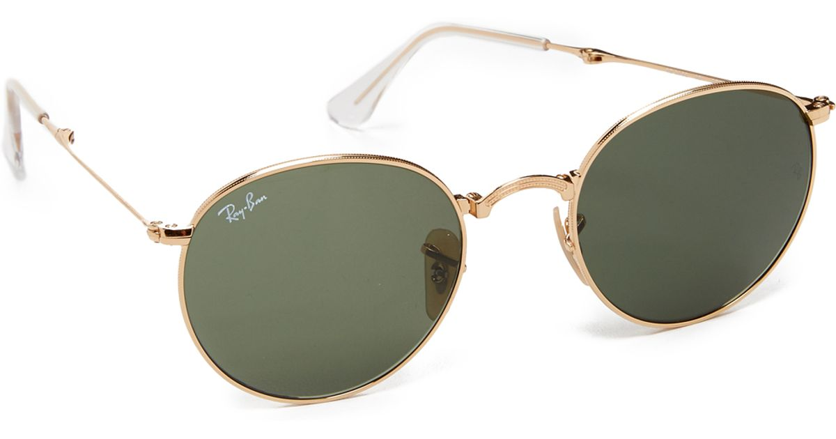 Ray-ban Icons Round Sunglasses in Green