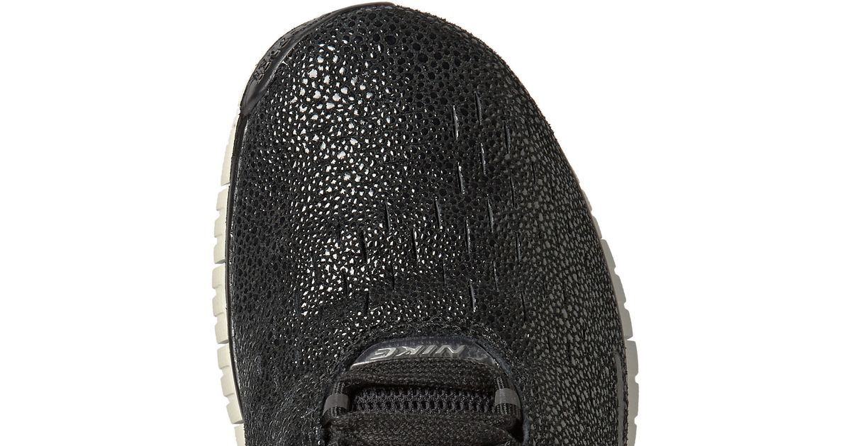 on sale dccd4 2c64f ... Lyst - Nike Free Og 14 Pa Faux Stingray Sneakers in Black fo ...