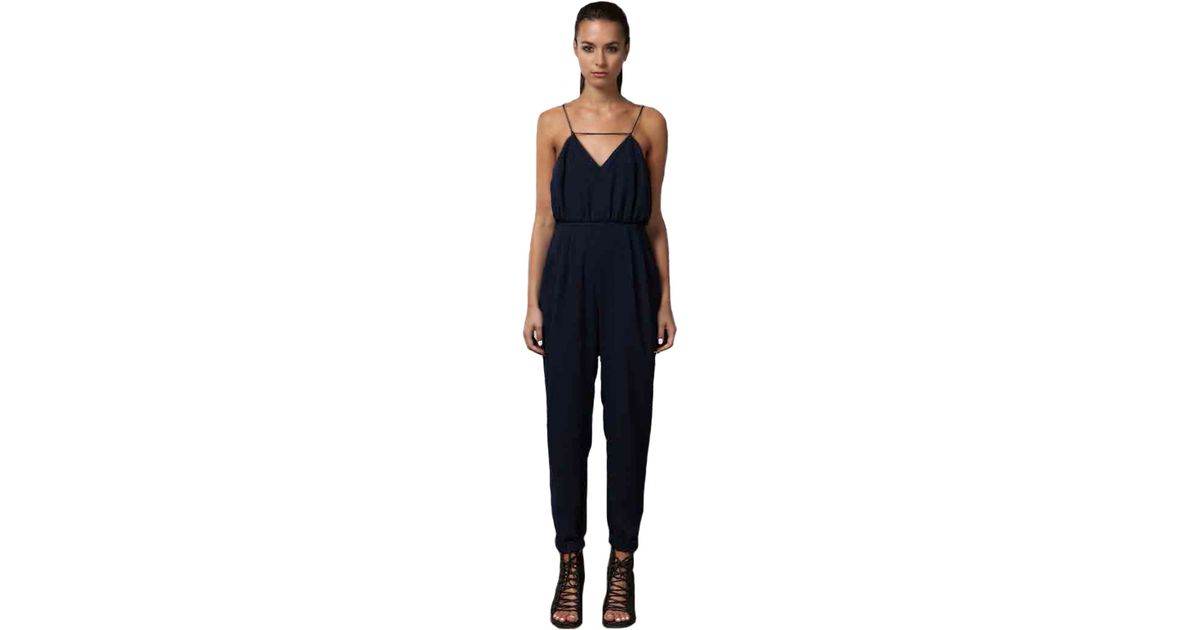 873219760904 Lyst - Finders Keepers Someday Jumpsuit As Seen On Jessica Alba in Blue