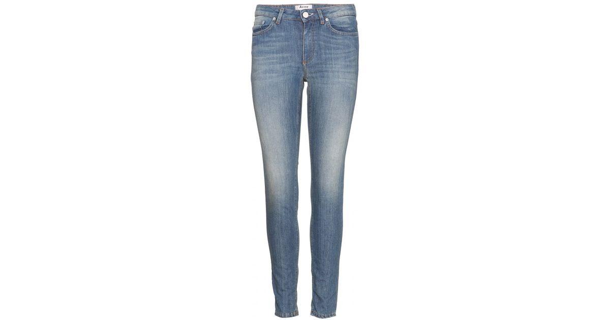 Acne Skin 5 Vintage Skinny Jeans in Blue | Lyst