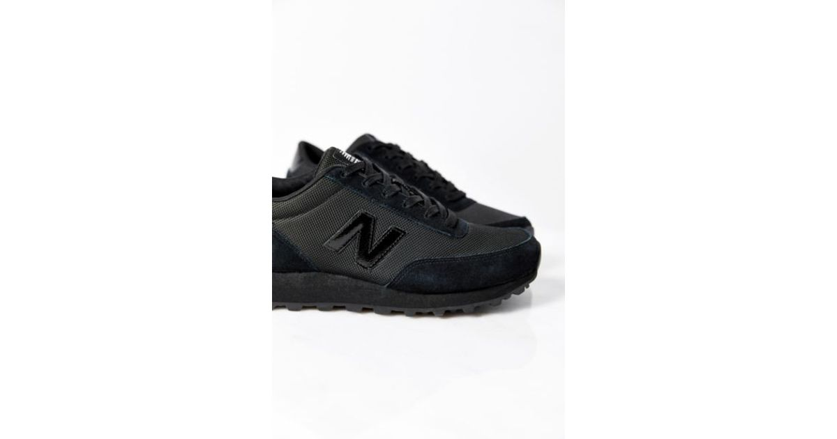 new balance x black 501 running sneaker