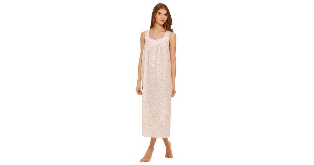 5b9941ff37 Lyst - Eileen West Spring Jubilee Ballet Nightgown in Pink