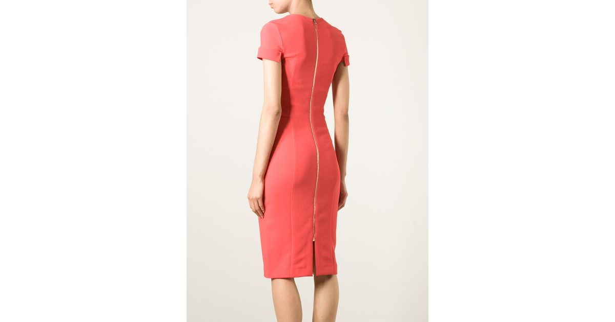 ae3e9f2416e Lyst - Roland Mouret  ollerton  Dress in Red