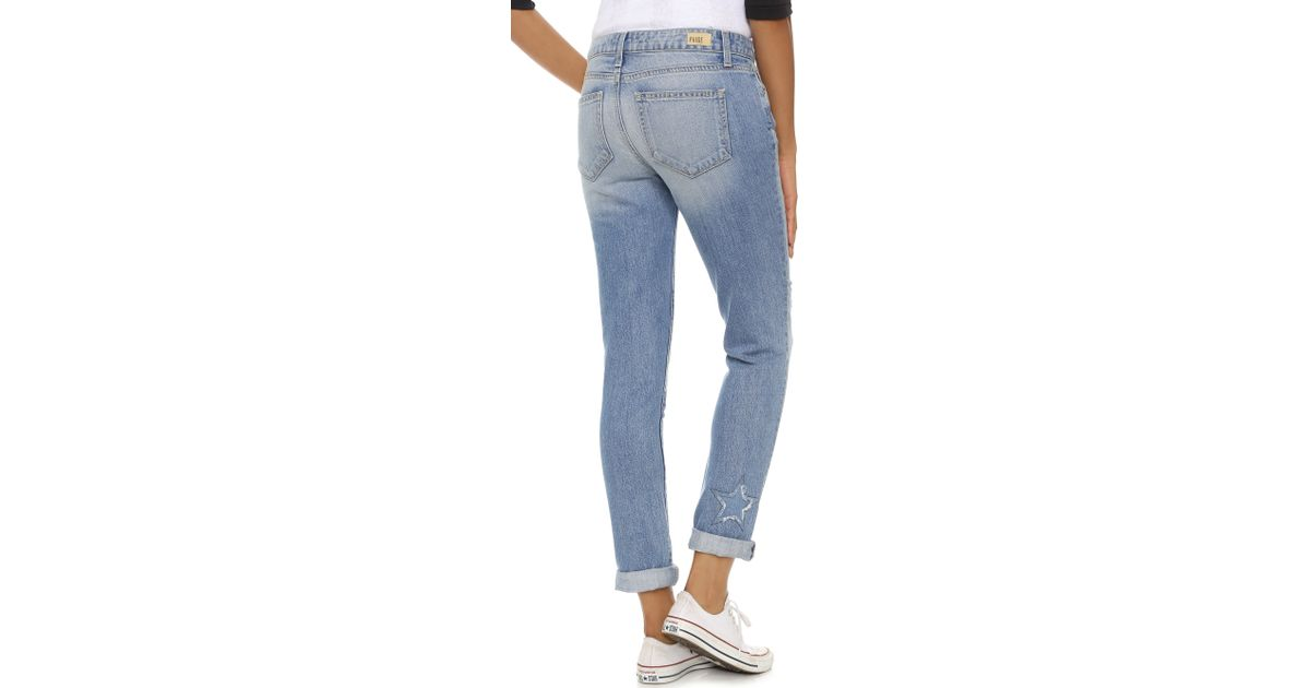 a1ab8b94f07 PAIGE Jimmy Jimmy Skinny Jeans in Blue - Lyst